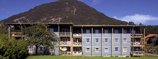 Mehrgeschossiger Wohnbau auf Arzill, Imst