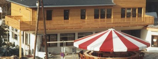 Aufstockung Restaurant Hubertusklause, St. Johann in Tirol