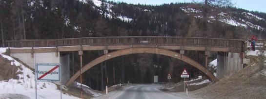Brücke Katschberg, Pistenüberführung