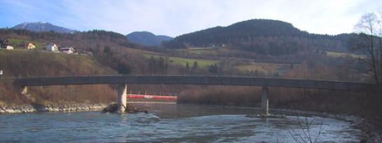Brücke Köcksteg, Pfarrwerfen