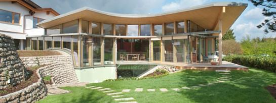 Villa mit Schwimmbad in Kuchl