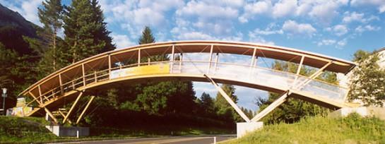 Brücke am Pressegger See, Hermagor