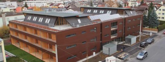 Mehrgeschossiger Wohnbau in der Schützenstrasse, Innsbruck