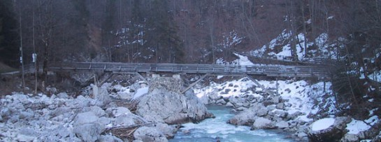 Brücke Teufelsteg, Lofer
